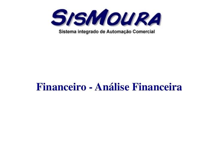 Financeiro   análise financeira