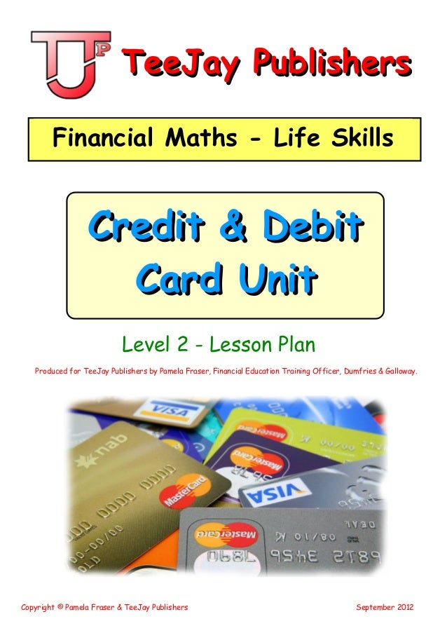 math worksheet : teejay maths lifeskills  credit cards level 2 : Tj Maths Worksheets