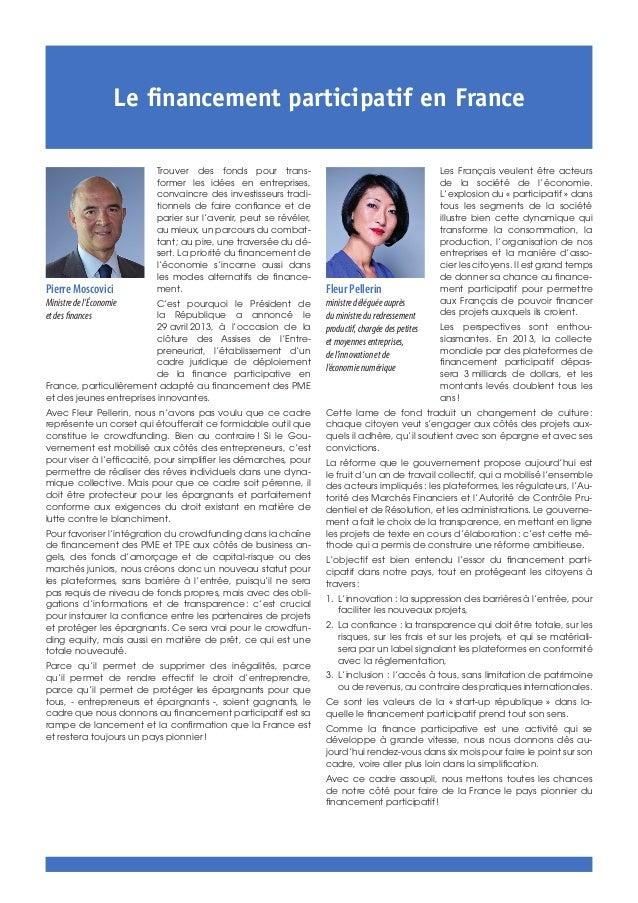 Les Français veulent être acteurs de la société de l'économie. L'explosion du «participatif» dans tous les segments de l...