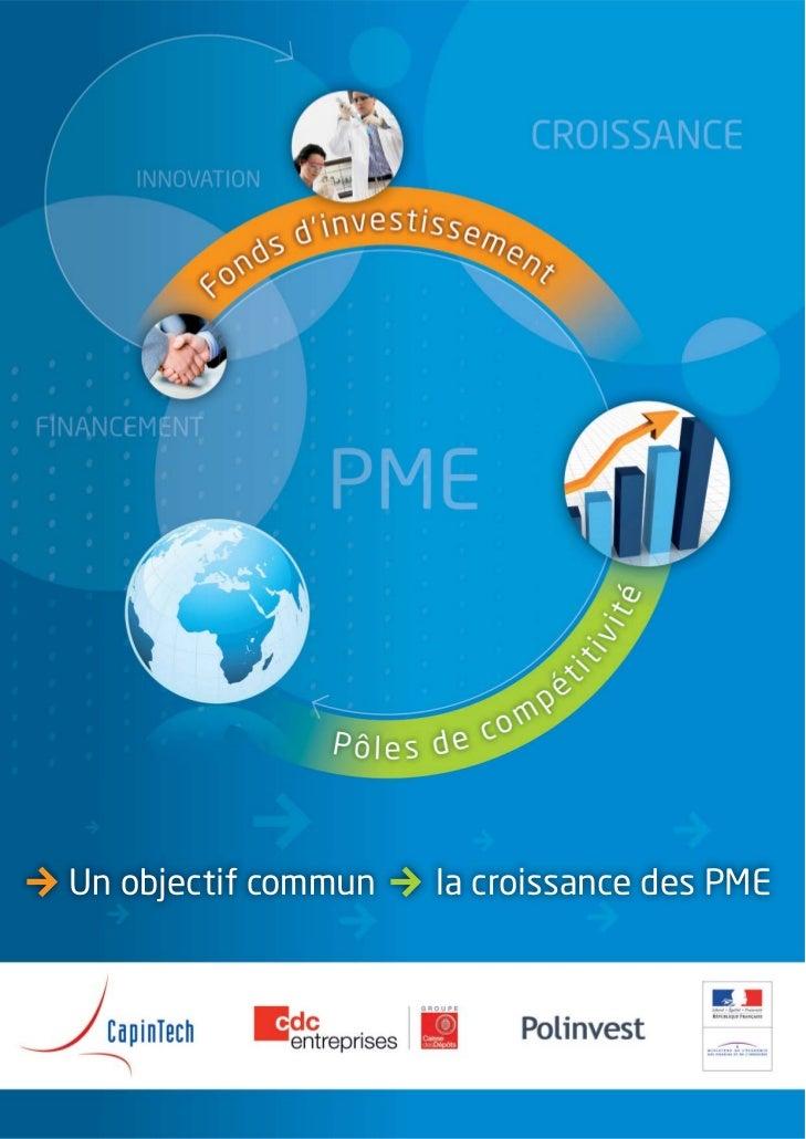 Un objectif commun   la croissance des PME