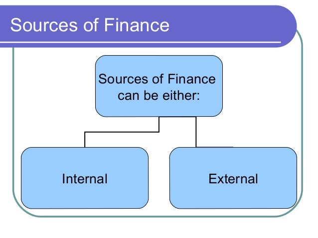 the implications of the different sources of finance Cfa level 1 - factors affecting the cost of capital learn about the various factors affecting the cost of capital discusses both the controllable and uncontrollable influences facing a.