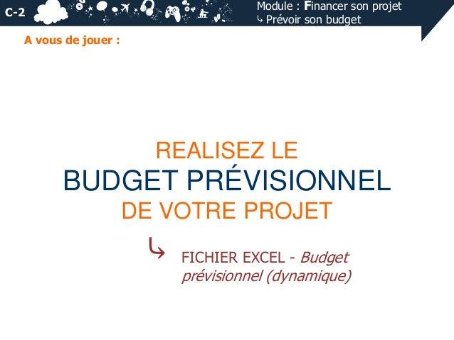 Financer son projet et pr voir son budget ppt - Aider a financer un projet ...