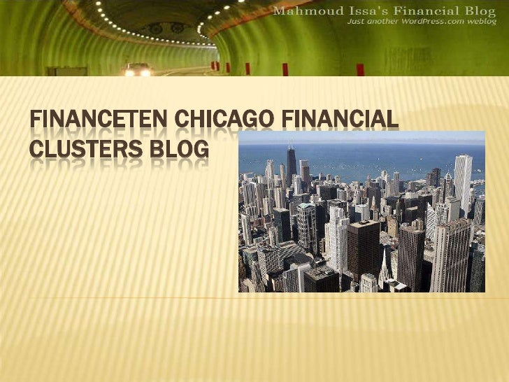 Finance Ten Chicago Financial Clusters