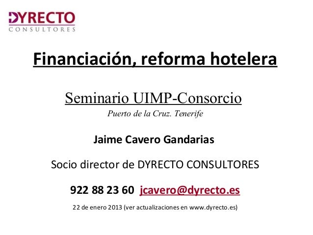 Financiacion turistica