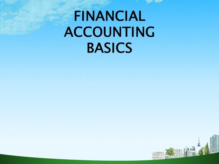 FINANCIAL STATEMENTS ppt @ BEC-DOMS