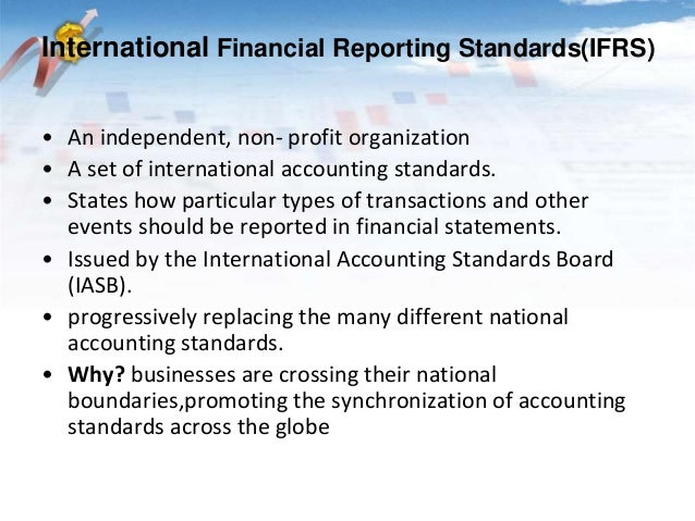 report on international financial reporting standard Research, guidance and support international financial reporting standards (ifrss) summary resource guide january 2016.