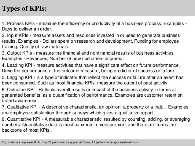 Financial Administrative Assistant Kpi