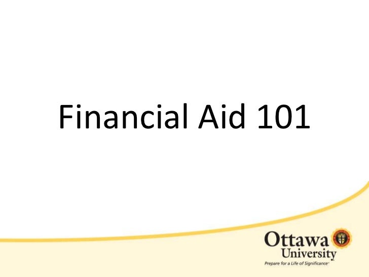 Ottawa University's Financial Aid 101