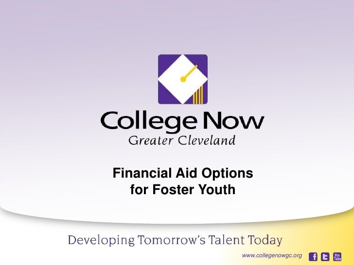 Financial aid for foster youth