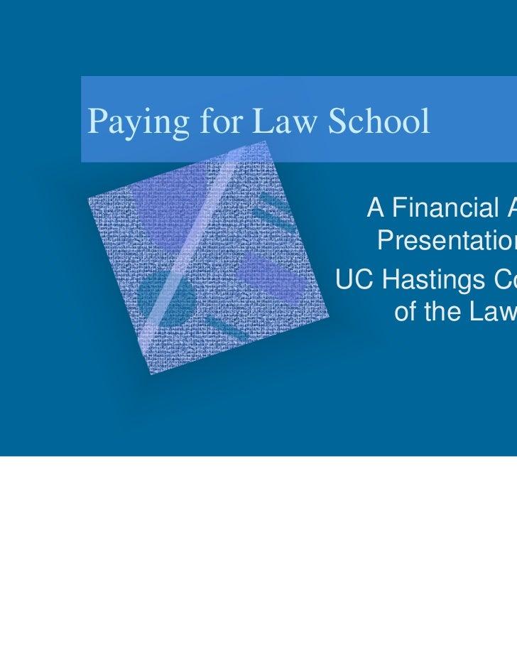 Financial aid presentation 05 05-11