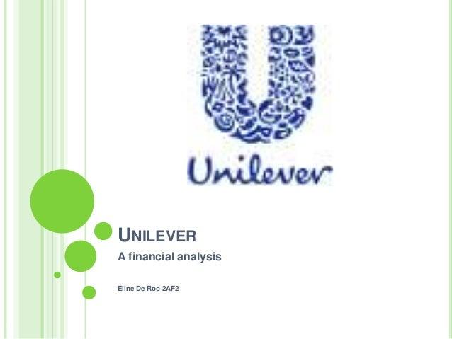Financialanalysis unilevereline2af2