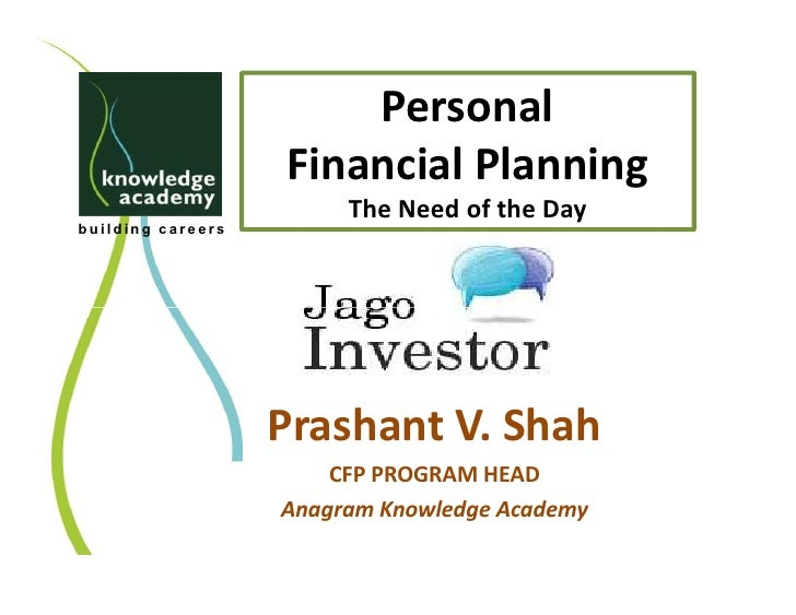 Financial awareness presentation ahmedabad meet