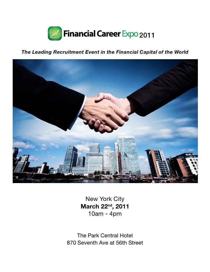 Financial Career Expo 2011