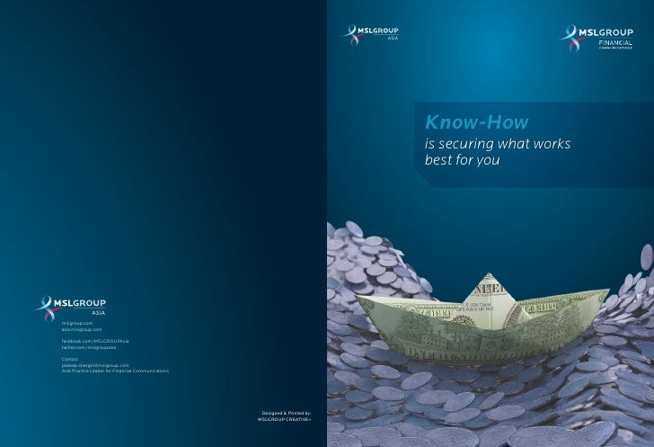 Know-How                                                                              is securing what works              ...