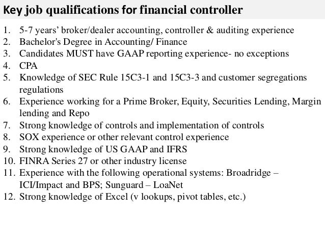 Finance broker qualifications