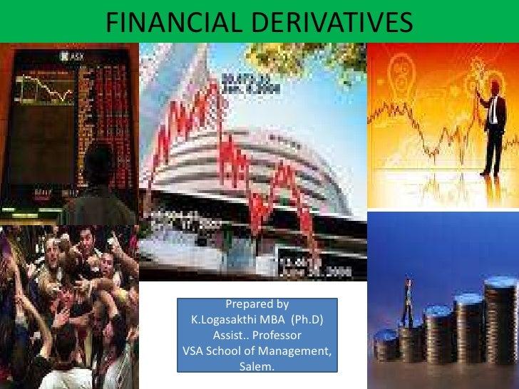 Financial derivatives ppt