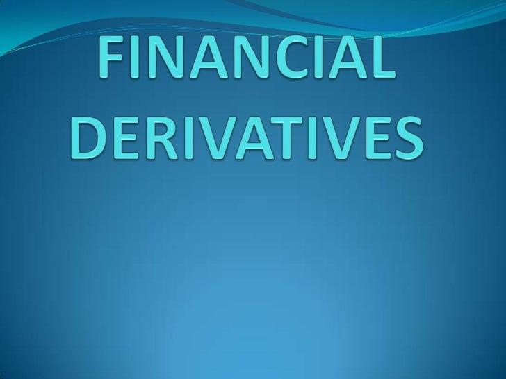 case studies derivatives trading in india finance Department of management studies, pondicherry university of derivatives traded in india – derivatives trading at nse/bse case of financial derivatives.