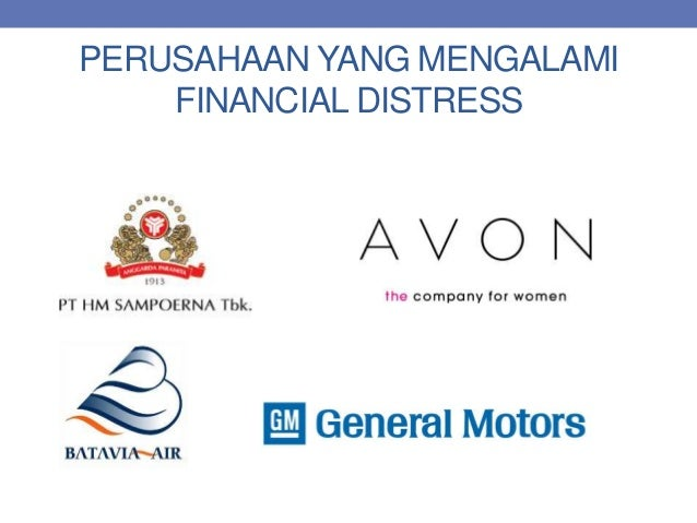 financial distress Creditriskmonitor outlines the signs of financial distress & gives examples of how ten large corporations try to combat bankruptcy.