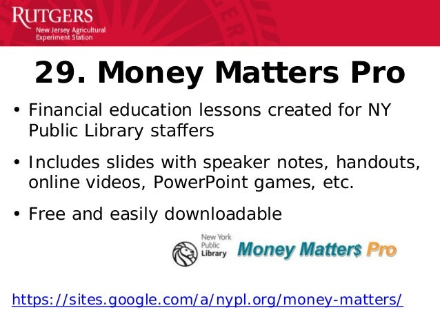 Budget Lessons from NJ recommend
