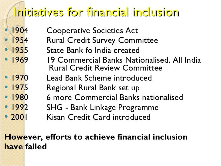 financial inclusion essay International journal of scientific and research publications, volume 3, issue 6, june 2013 1 issn 2250-3153 wwwijsrporg the role of shgs in financial inclusion.