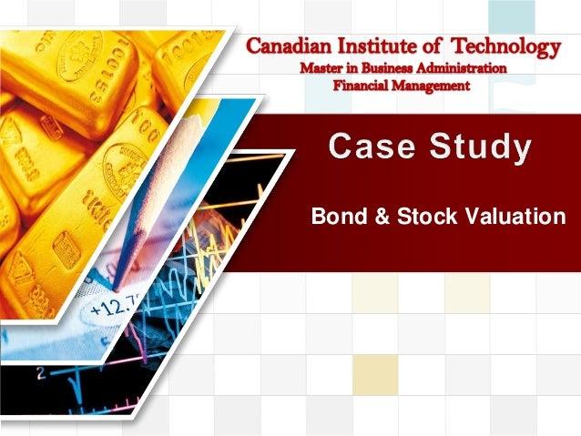 LOGOBond & Stock Valuation