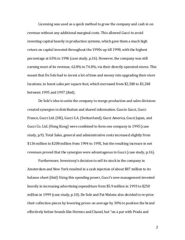 Financial essay