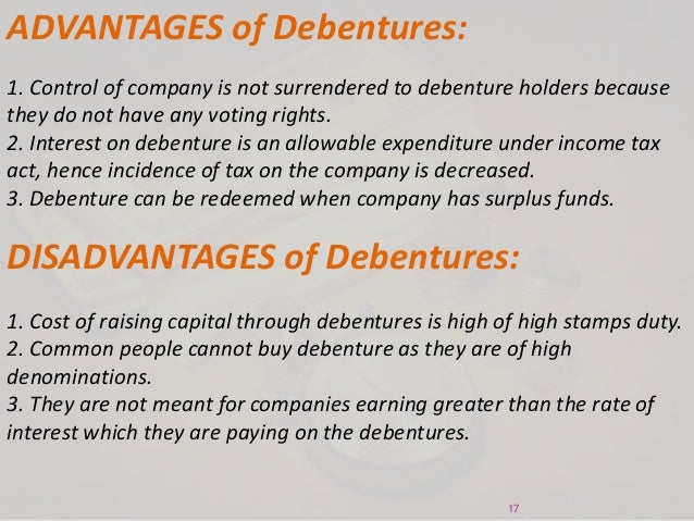 Shares and Debentures - Financial Management