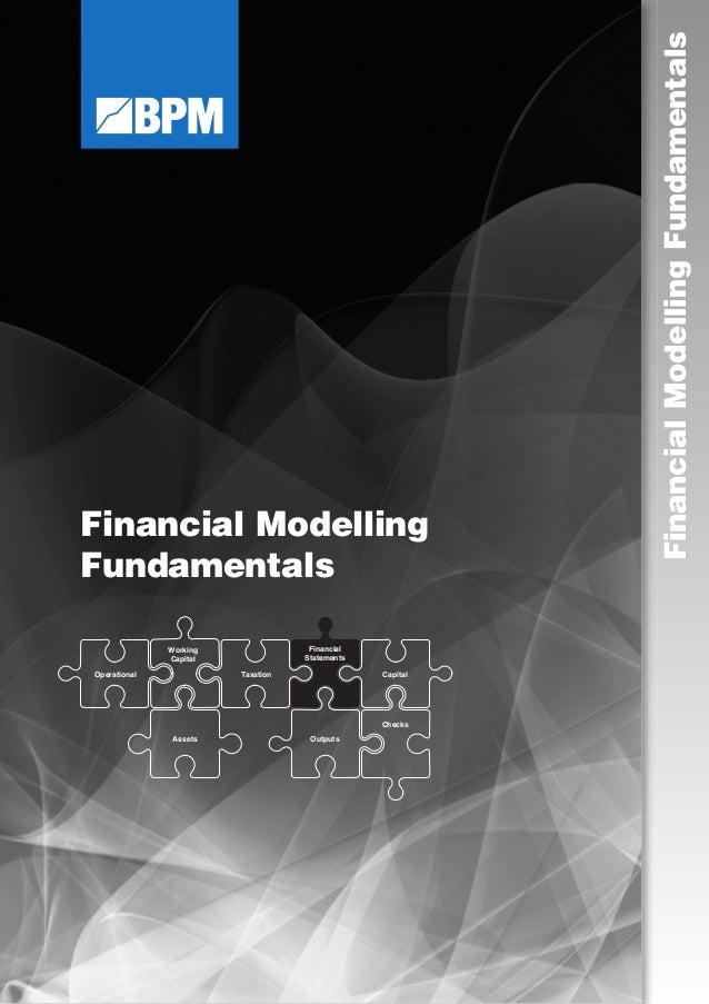Financial Modelling Fundamentals FinancialModellingFundamentalsOperational Working Capital Financial Statements Taxation C...