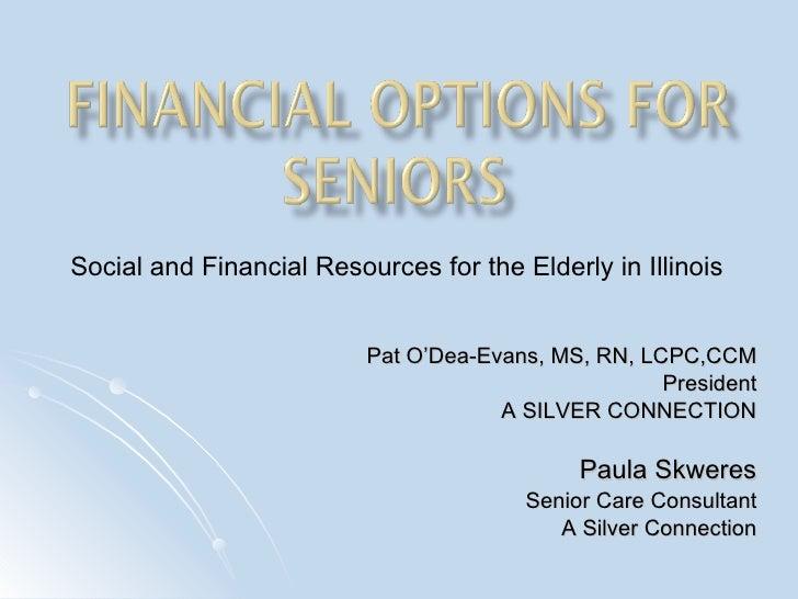Financial Options For Seniorspod