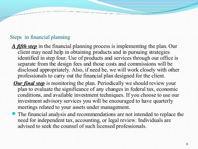 Research paper on expert system for financial planning