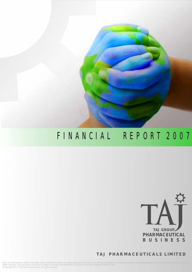 FINANCIAL                                                                      REPORT 2007                                ...