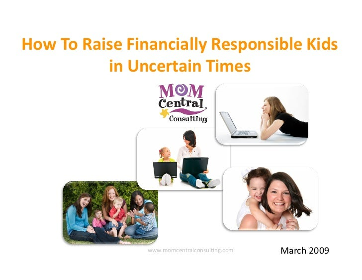 How to Raise Financially Responsible Kids in Uncertain Times