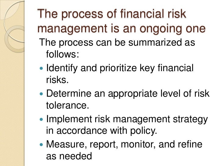 What are some examples of risk management techniques?