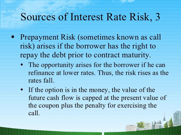 Dissertation on interest rate risk management