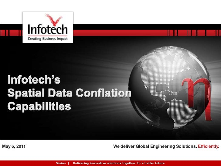Infotech's Spatial Conflation Tool TruShift