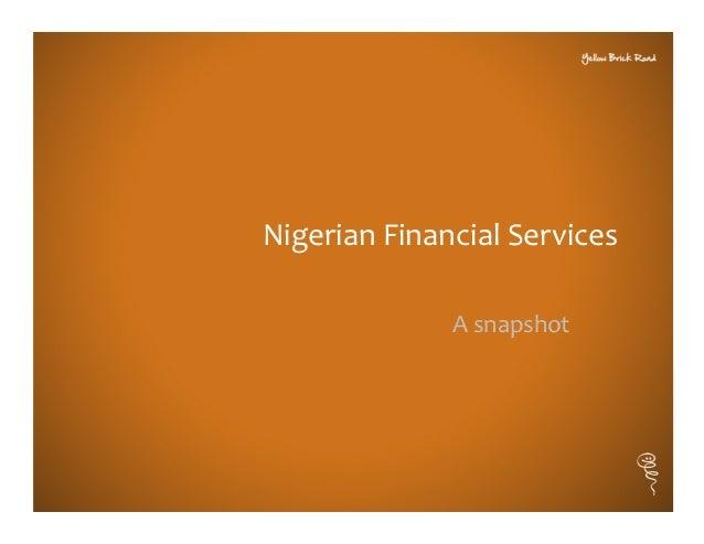 Financial services in Nigeria