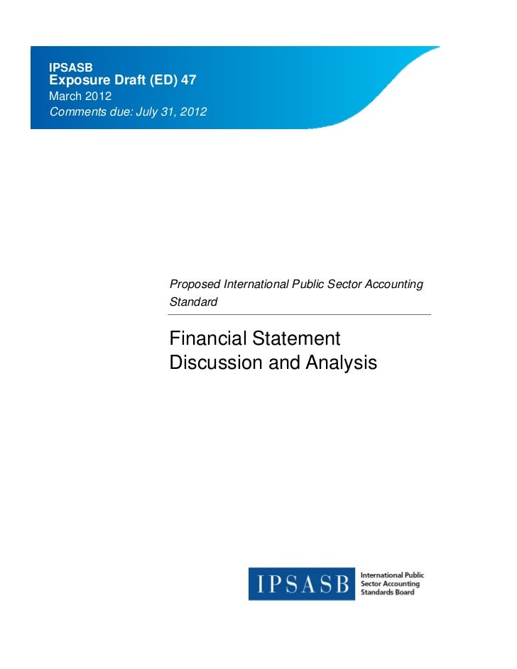 Financial statement discussion and analysis 0