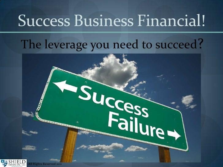 Financial Success !