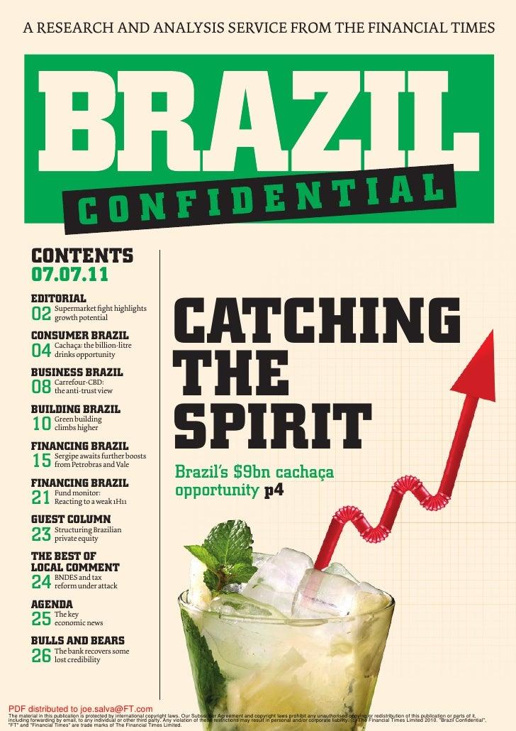 Financial times   brazil confidencial - sergipe 7 20 de julho de 2011