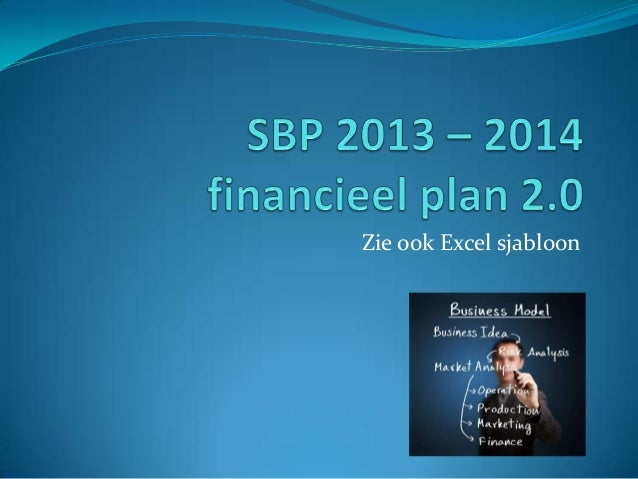 Financieel plan sbp 2013 2014 update 2
