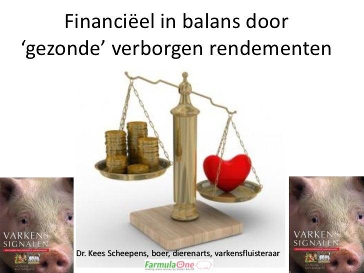 Financiëel in balans