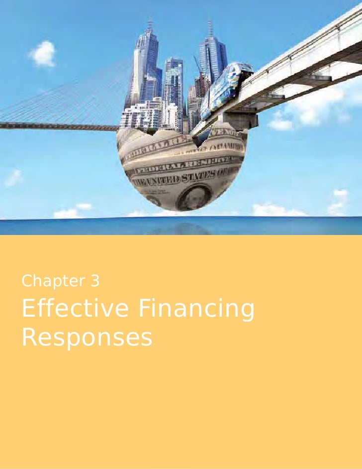 Effective Financing Responses Chapter 3
