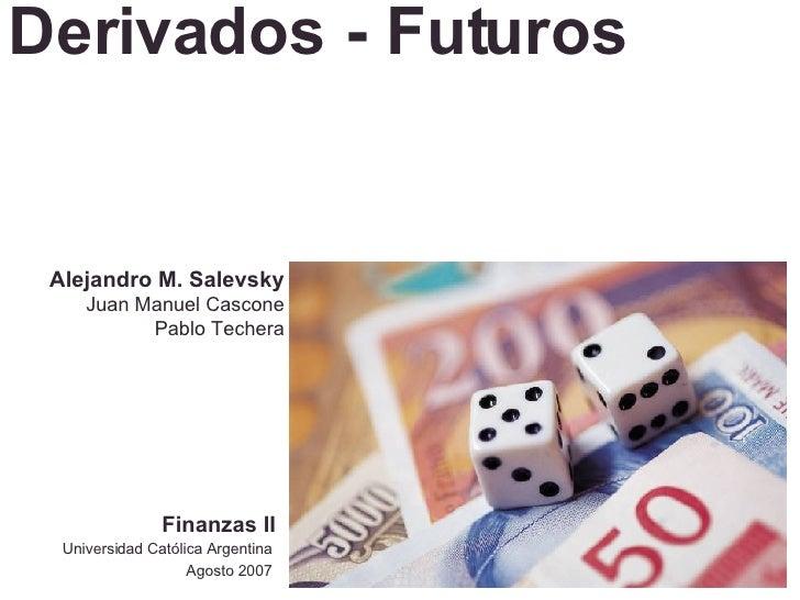 Finanzas 2 - Futuros