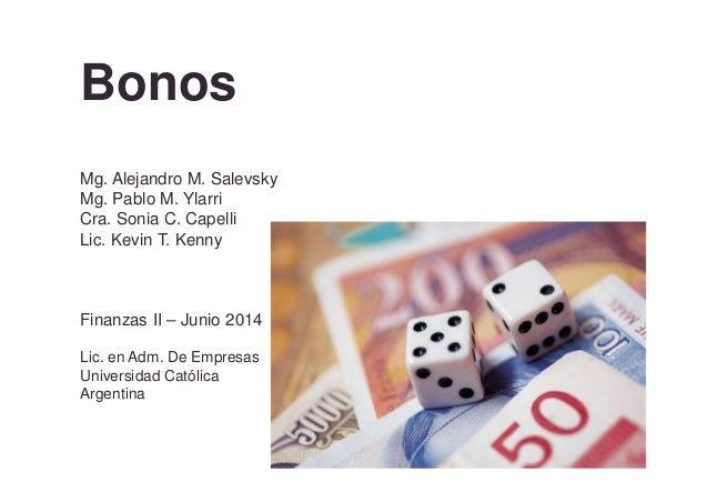 Finanzas II Bonos 2014