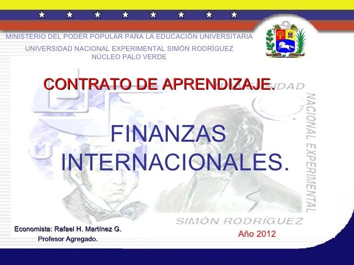 Finanzas internacionales 2012   2. secc. d. 25 de junio de 2012