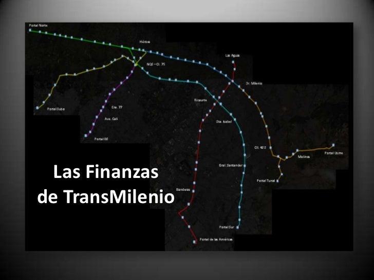 Las Finanzasde TransMilenio