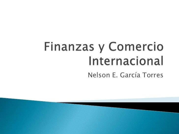 Finanzas y comercio internacional i 1 for Comercio exterior