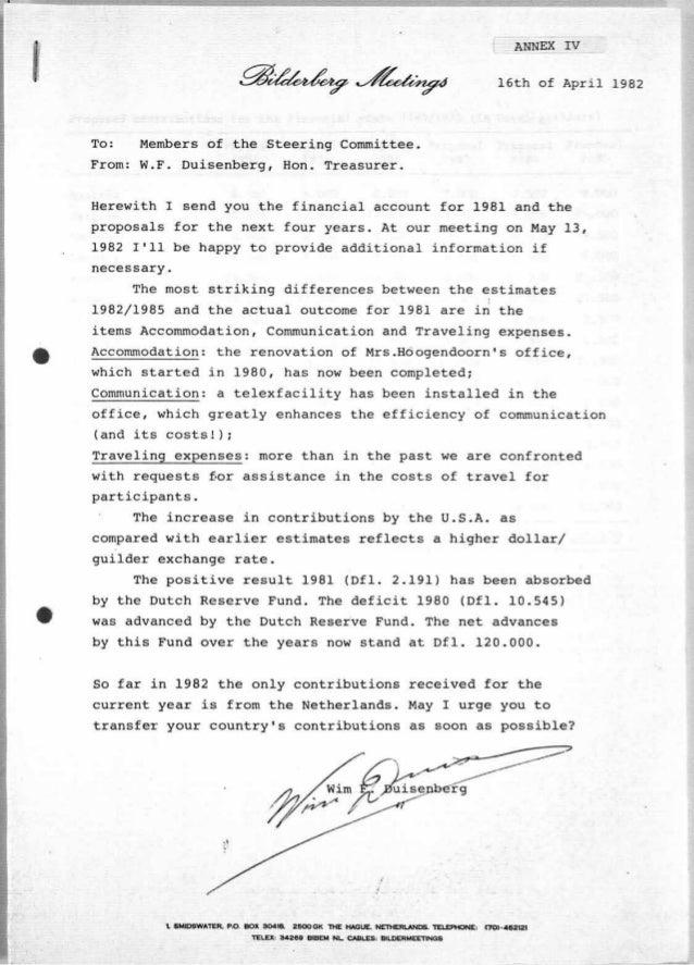 Finanzen 1982 bilderberger