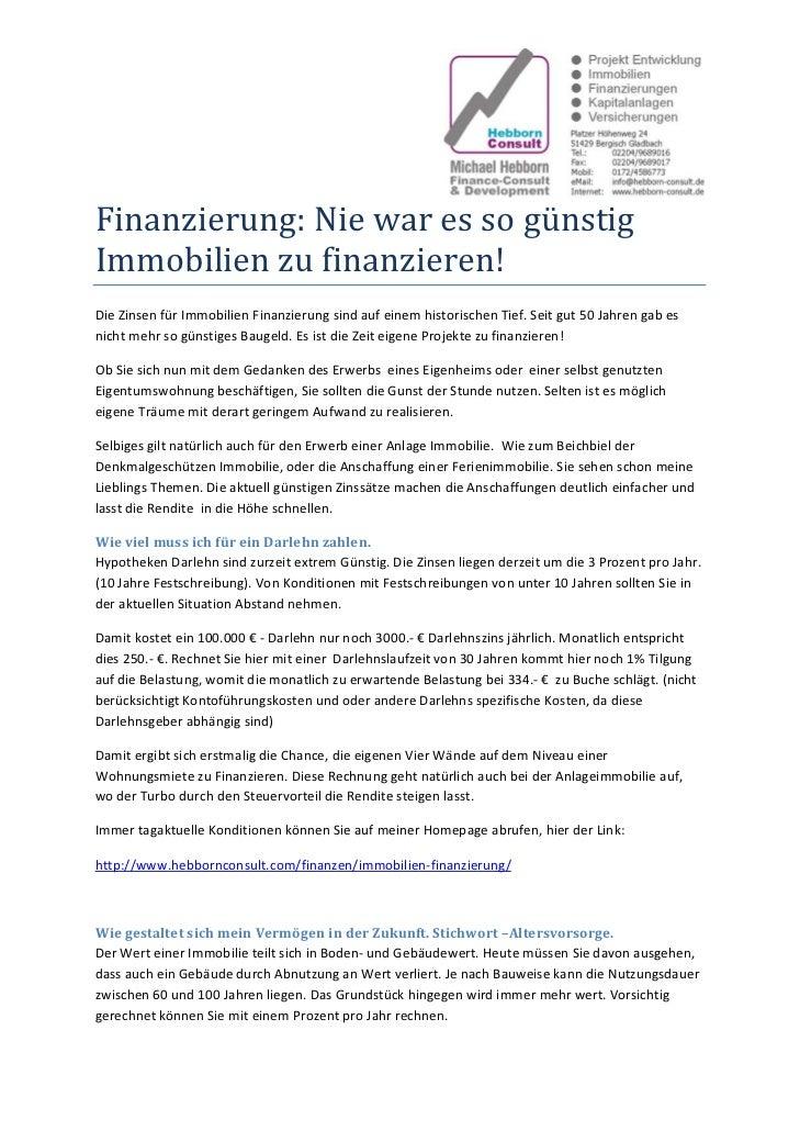 Finanzierung:NiewaressogünstigImmobilienzufinanzieren!DieZinsenfürImmobilienFinanzierungsindaufeinemhist...