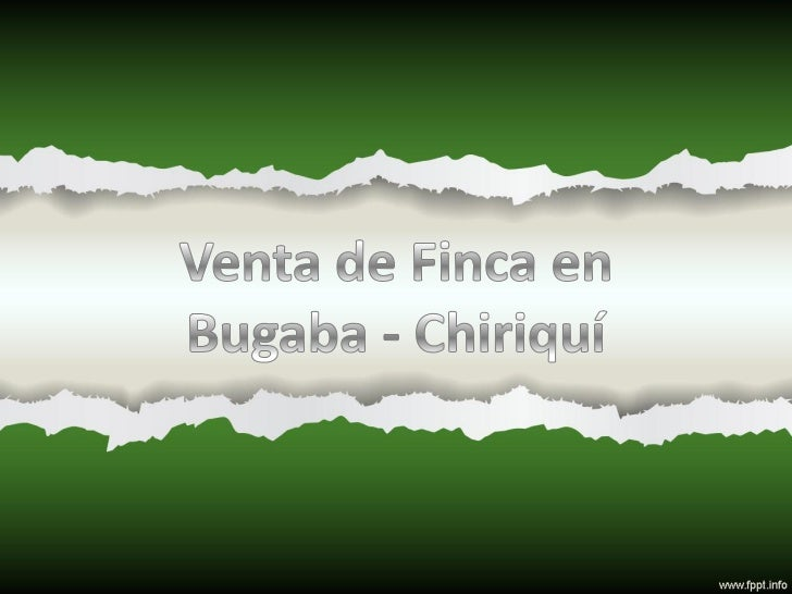 Altura De La Finca: 610 mts sobre el nivel del mar.Camino de Acceso: Piedra o tosca.Distancia de la Carretera Interamerica...